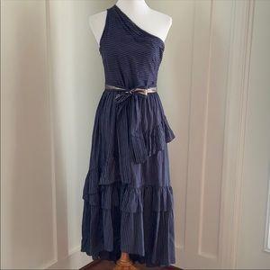 Ulla Johnson Dresses - Ulla Johnson Blue White Pinstripe Amber Dress 4